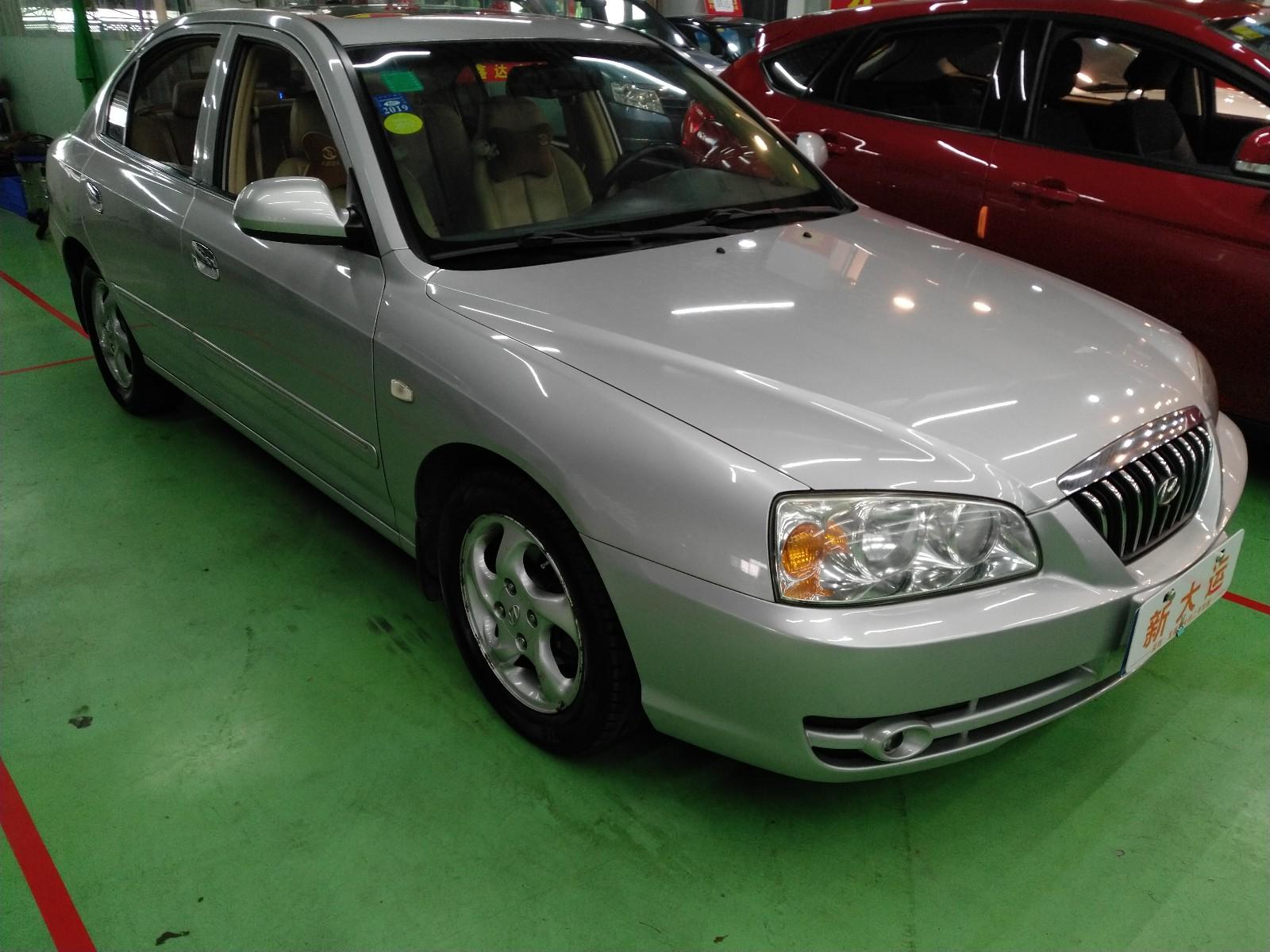 现代 伊兰特 2005款 1.6L 自动豪华型