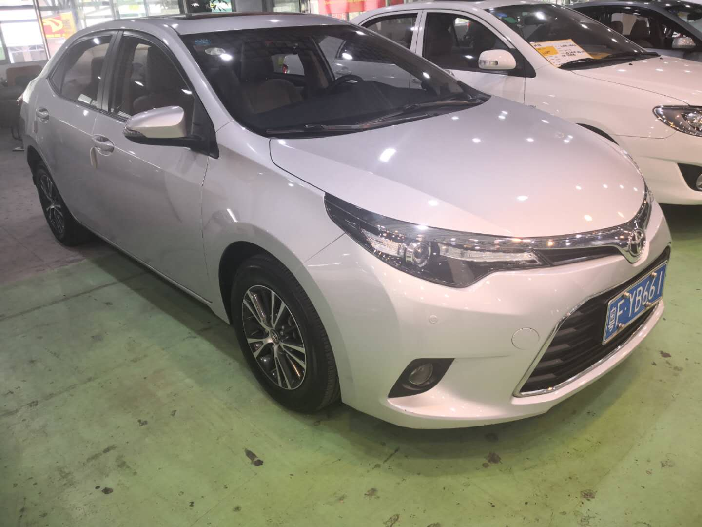 丰田雷凌 2017款 1.2T E CVT新锐版