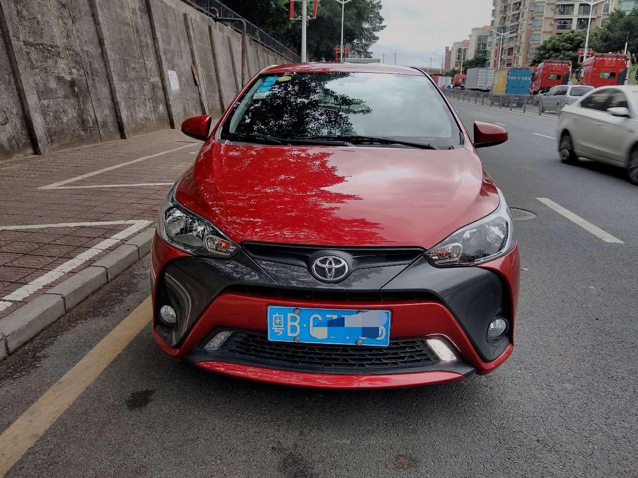 丰田YARiS L 致炫 2017款 1.5E CVT劲速升级版