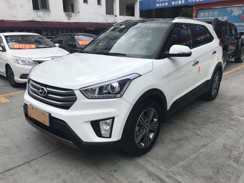 北京现代ix25 2015款 1.6L 自动两驱尊贵型DLX