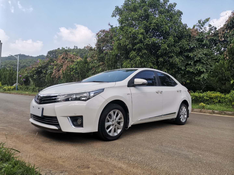 丰田卡罗拉 2014款 1.6L CVT GL-i真皮版