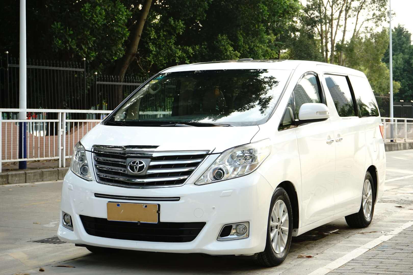 丰田埃尔法 2012款 3.5L 豪华版