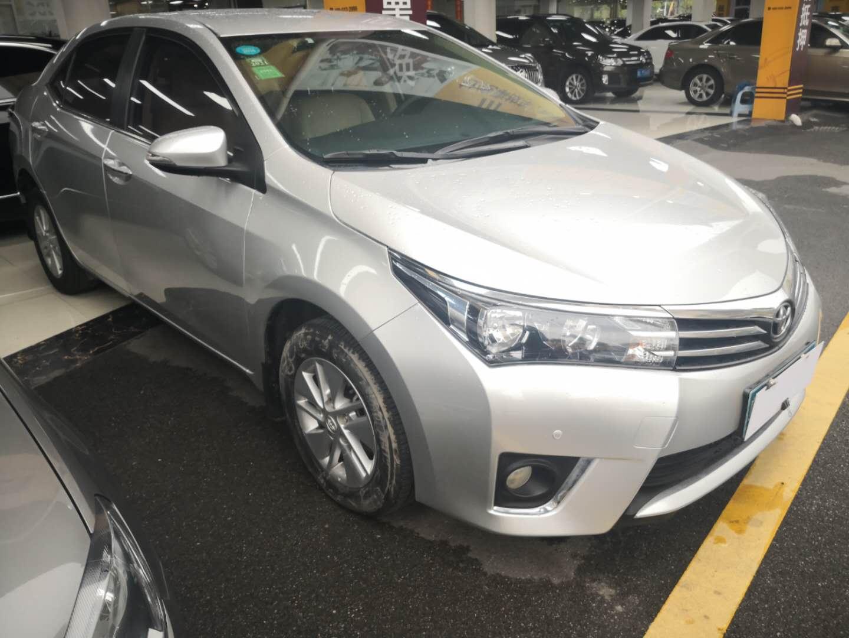 丰田卡罗拉 2014款 1.6L CVT GL