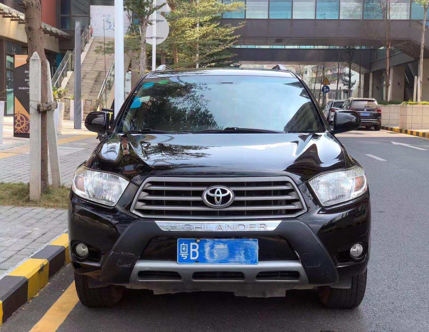 丰田汉兰达 2011款 2.7L 两驱5座精英版