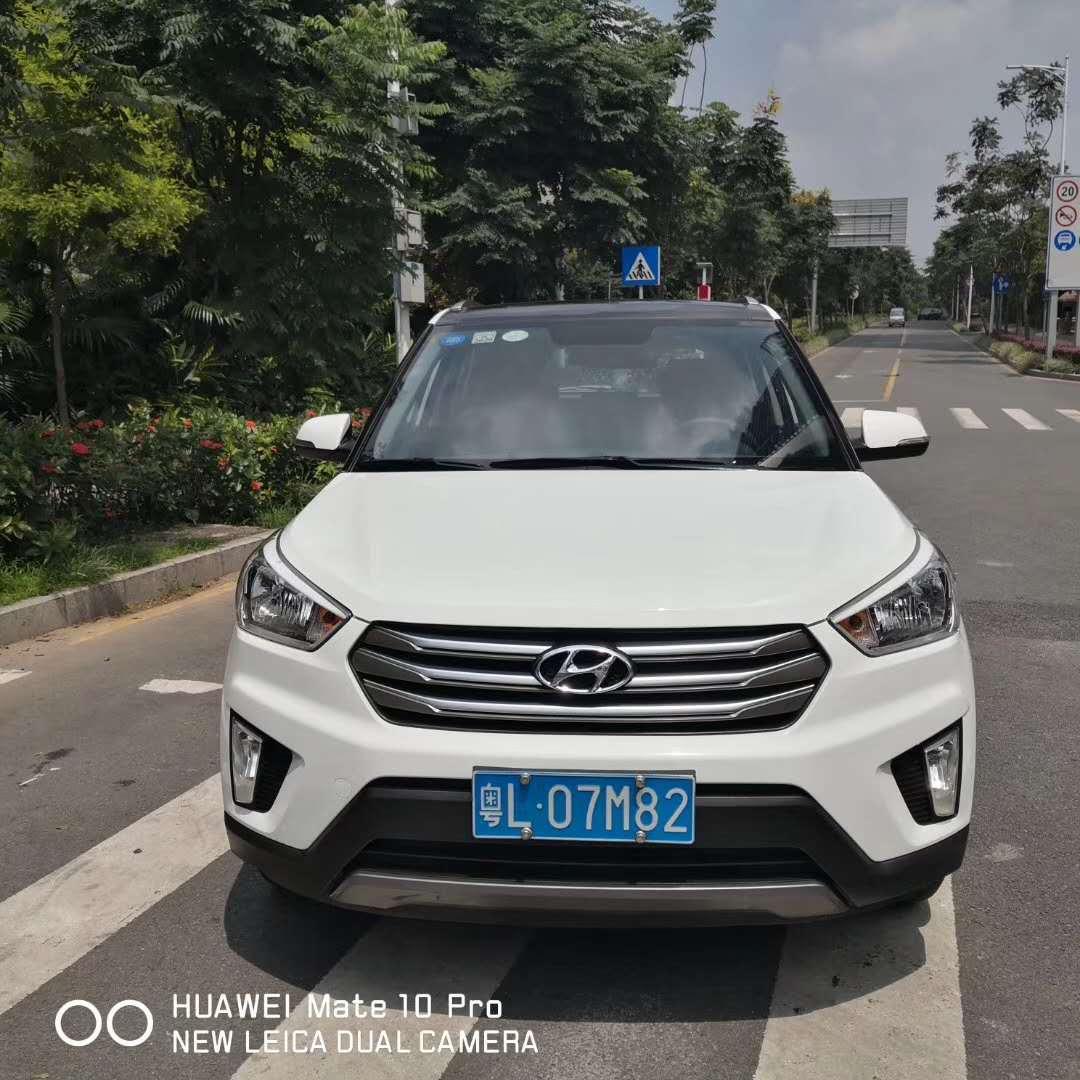 北京现代ix25 2016款 1.6T 双离合两驱尊贵型DLX