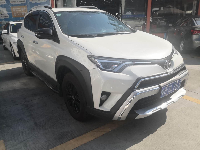 丰田RAV4荣放 2018款 2.0L CVT两驱风尚X版