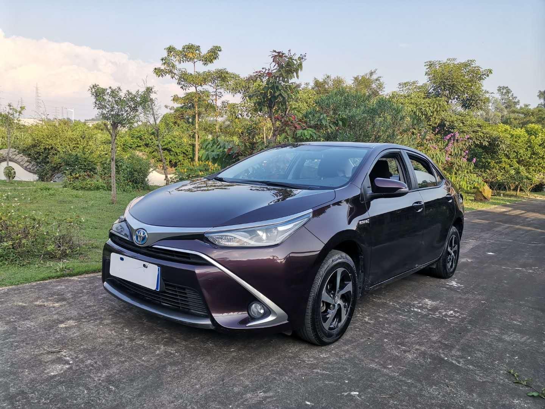 丰田雷凌 2017款 改款双擎 1.8H GS CVT精英天窗版