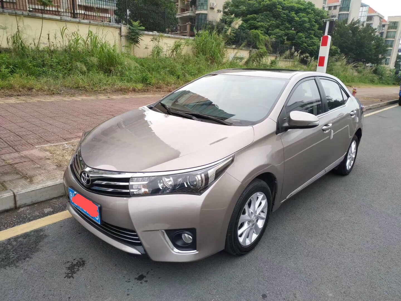 丰田 卡罗拉 2014款 1.8L CVT GLX-i