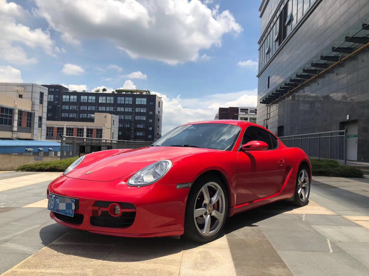 保时捷 Cayman 2006款 Cayman S AT 3.4L
