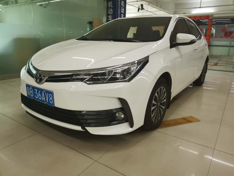 丰田卡罗拉 2017款 改款 1.2T S-CVT GL
