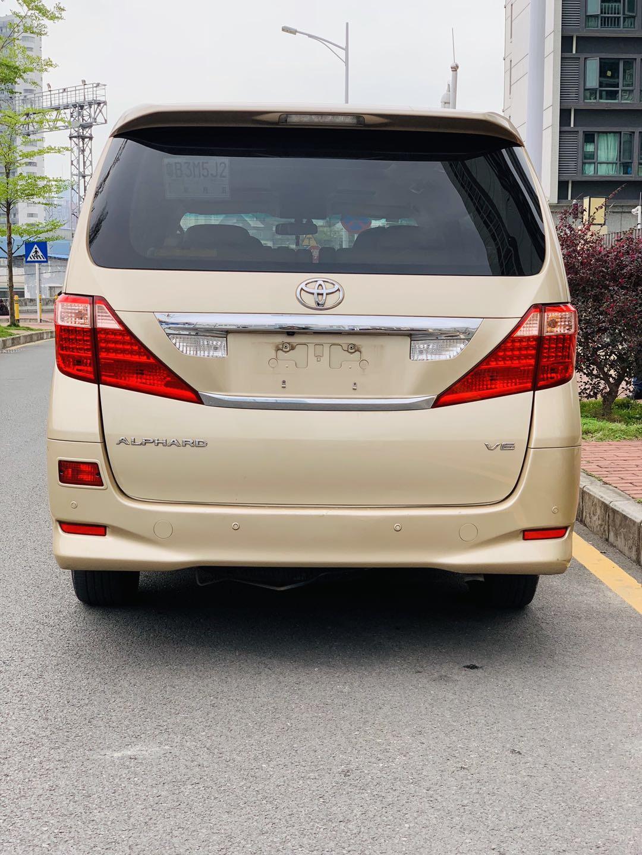 丰田埃尔法 2011款 3.5L 豪华版
