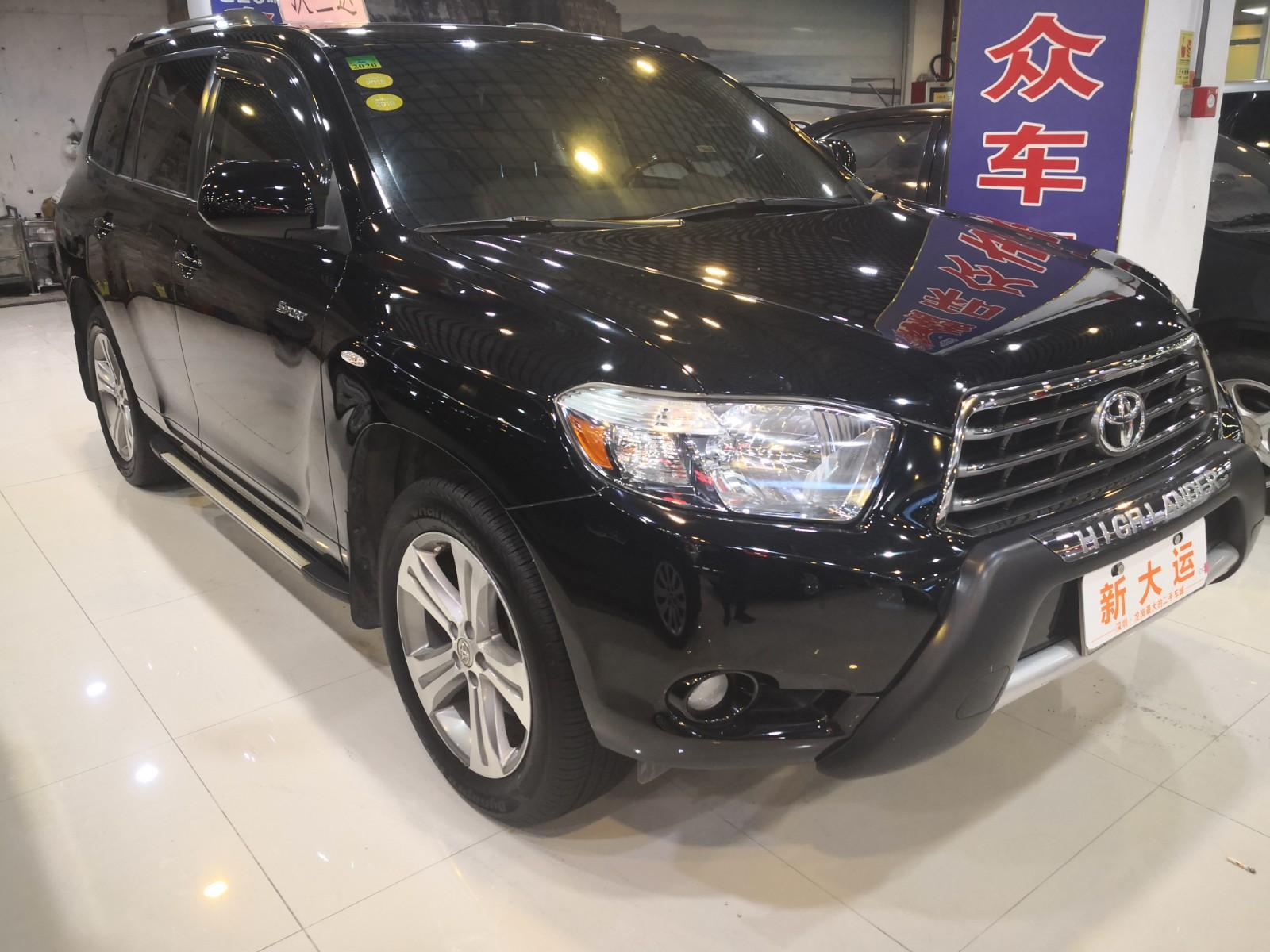 丰田 汉兰达 2011款 2.7L 两驱7座豪华版