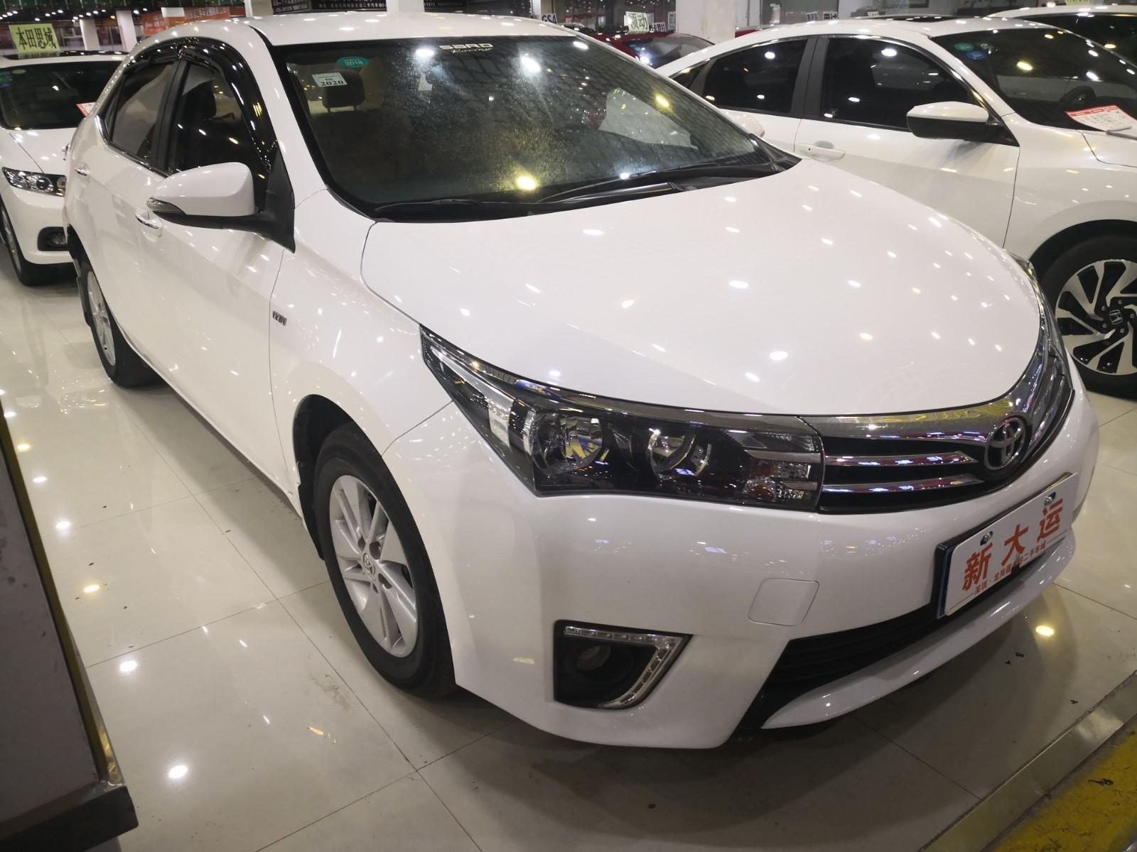 丰田 卡罗拉 2014款 1.6L CVT GL