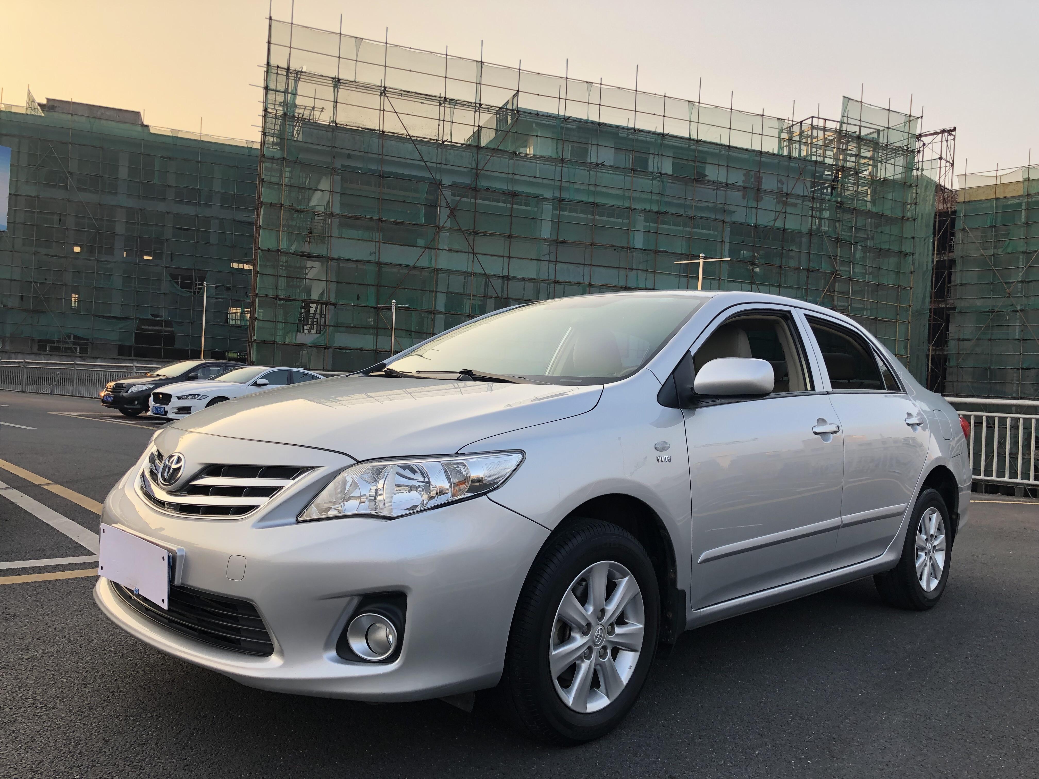 丰田卡罗拉 2011款 1.6L 自动GL