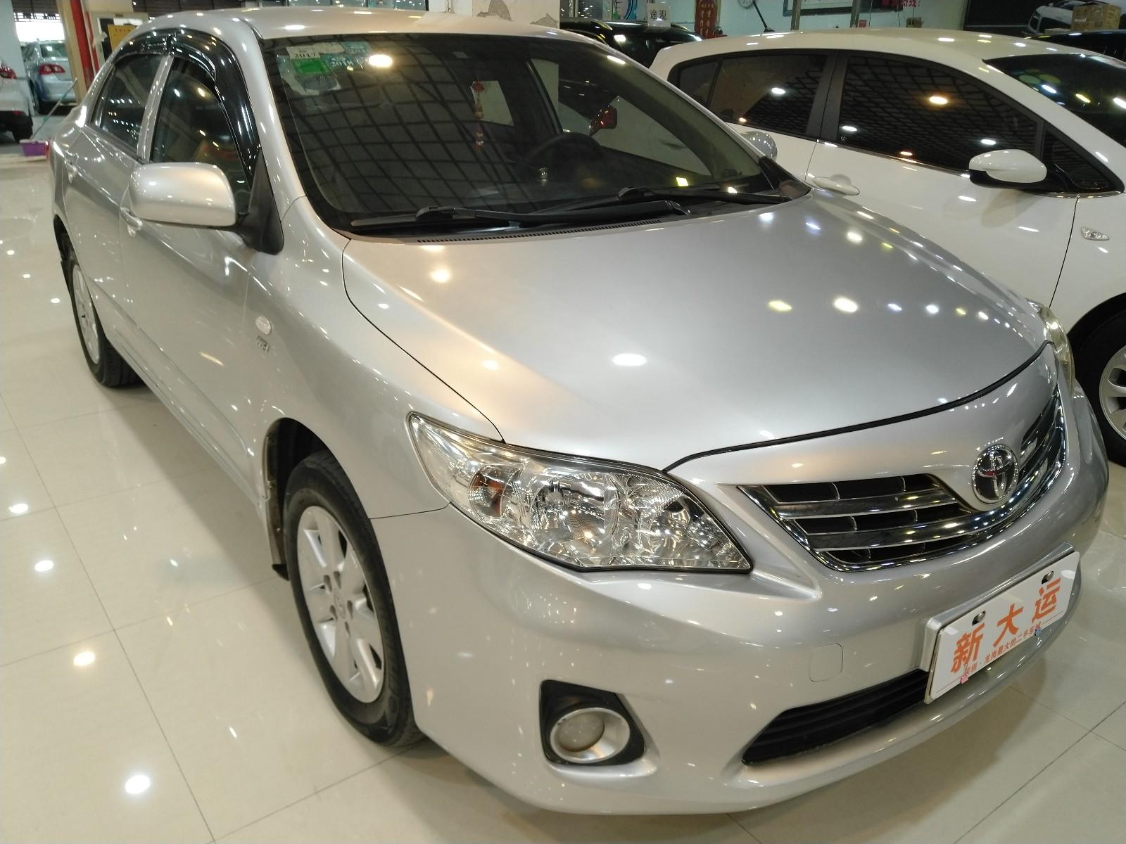 丰田 卡罗拉 2011款 1.6L 自动GL