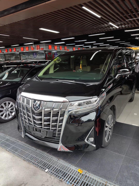 丰田埃尔法 2018款 3.5L 豪华版